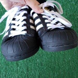 adidas Shoes - Adidas Superstar Leather Sneakers